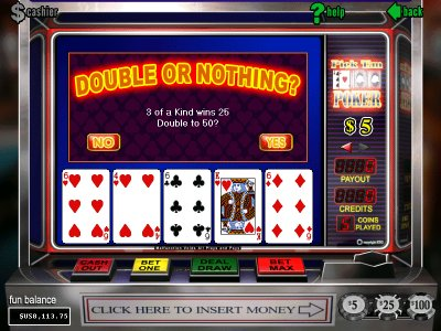 Pick em poker free game